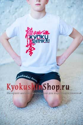 Футболка киокушинкай (белая)