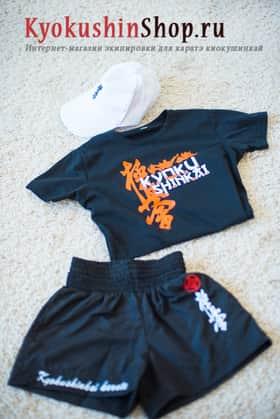 Шорты+футболка+бейсболка