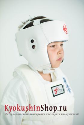 Шлем открытый киокушинкай