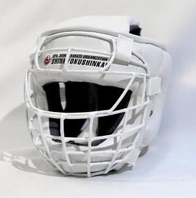 Шлем шинкиокушинкай с металлической маской